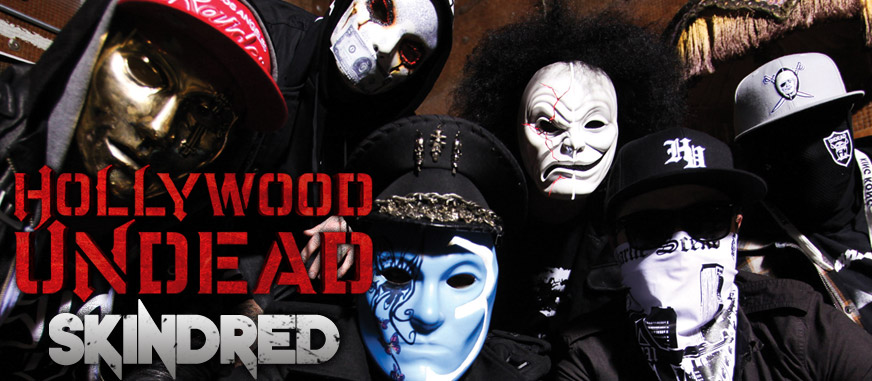 Hollywood Undead & Skindred Australian Tour