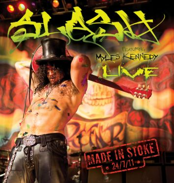 Slash set to release first ever live solo CD / DVD / Blu-Ray