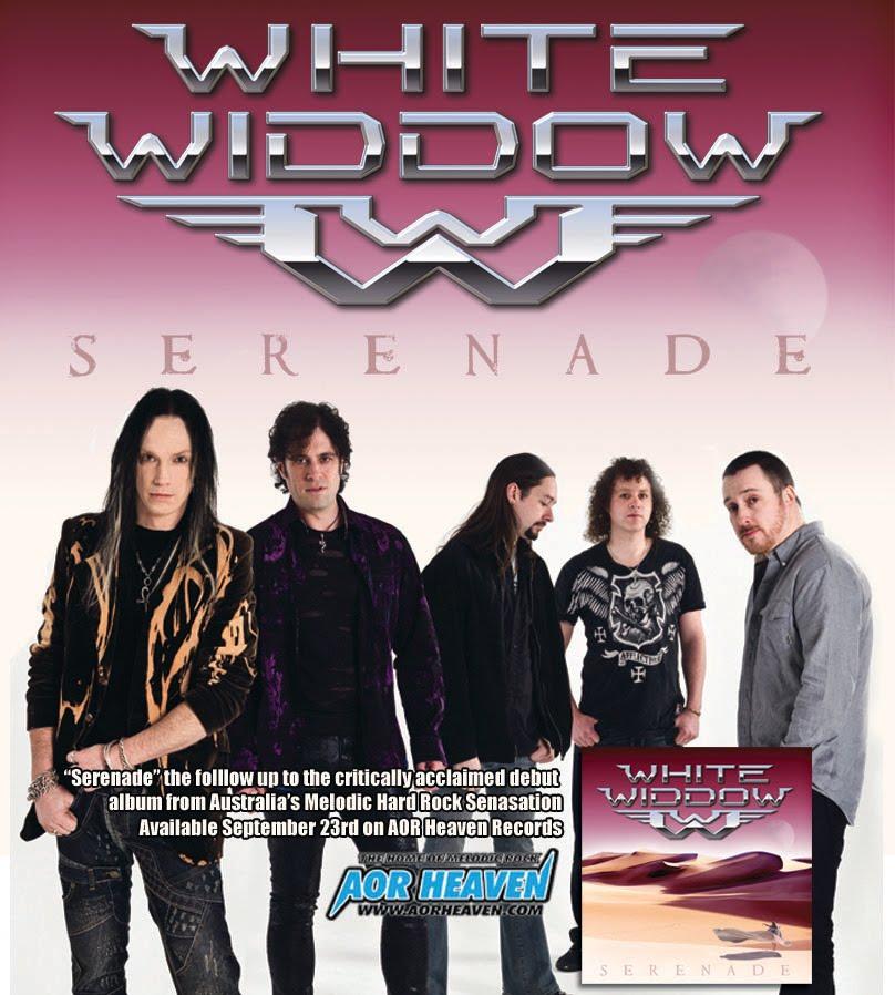 White Widdow – Serenade, new album details