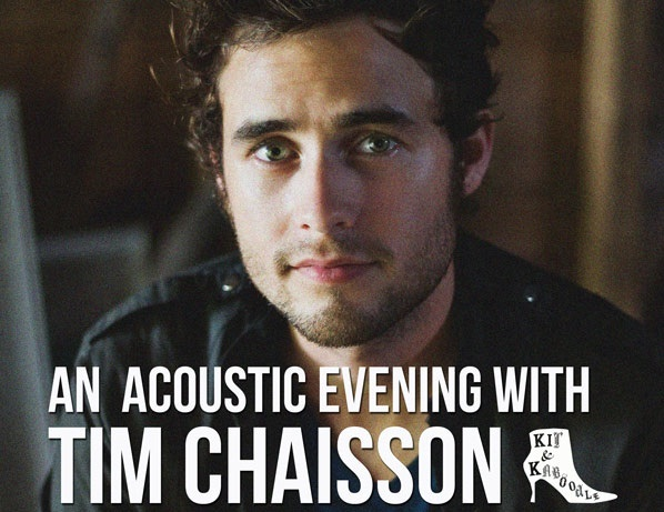 Tim Chaisson showcase giveaway – Sydney – Wednesday 26th October (CLOSED)