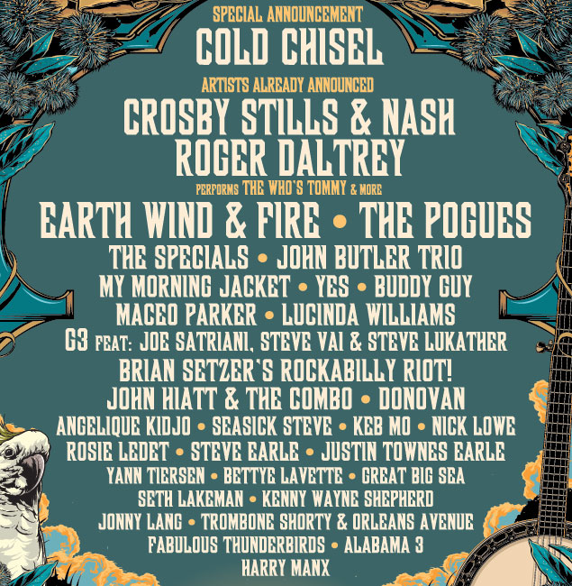 Byron Bay Bluesfest 2012 – lineup so far!