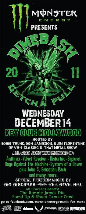 "Monster Energy Presents ""DimeBash 2011"" December 14, 2011 at the Key Club in West Hollywood, CA"