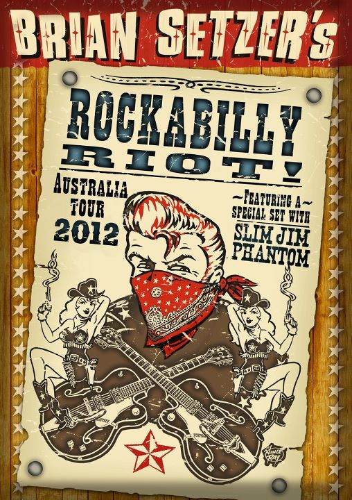 Brian Setzer's Rockabilly Riot Australian Tour – second Melbourne show announced!