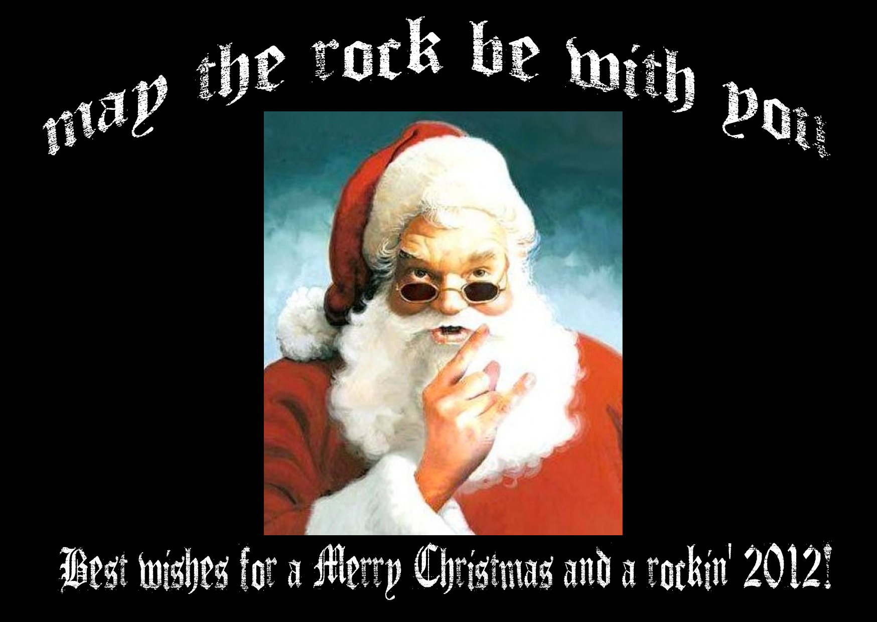 Merry Christmas and Best Wishes for 2012!