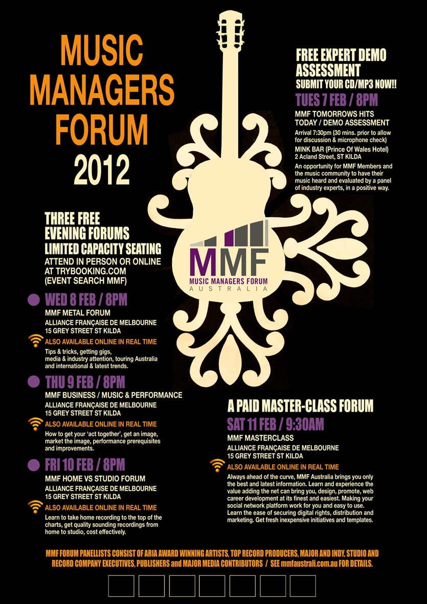 Music Managers Forum Online 2012