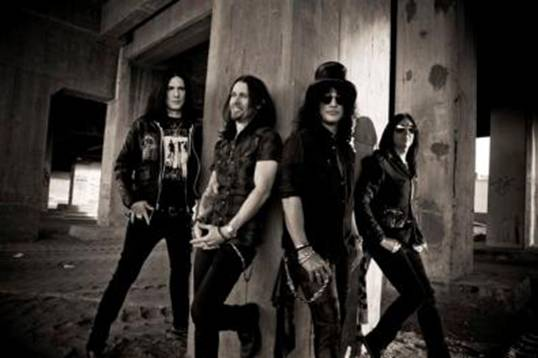 Slash to release second studio solo album on May 18, 2012
