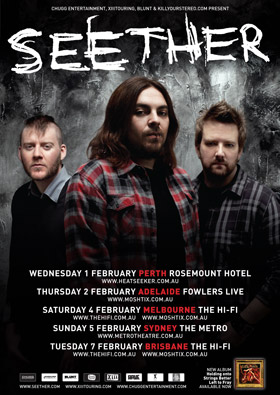 Seether – The Metro Theatre, Sydney – February 5th