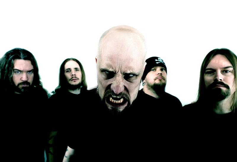 Marten Hagstrom of Meshuggah