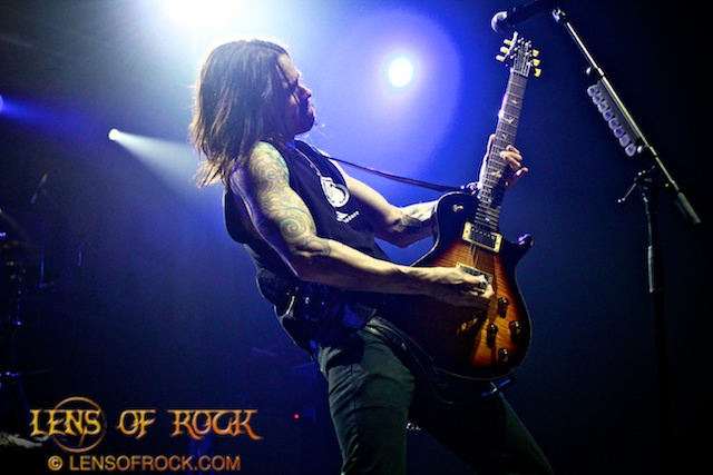 Alter Bridge – Soundwave 2012 Sidewave, The Palace