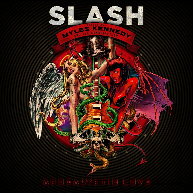 SLASH reveals track listing for 'Apocalyptic Love'
