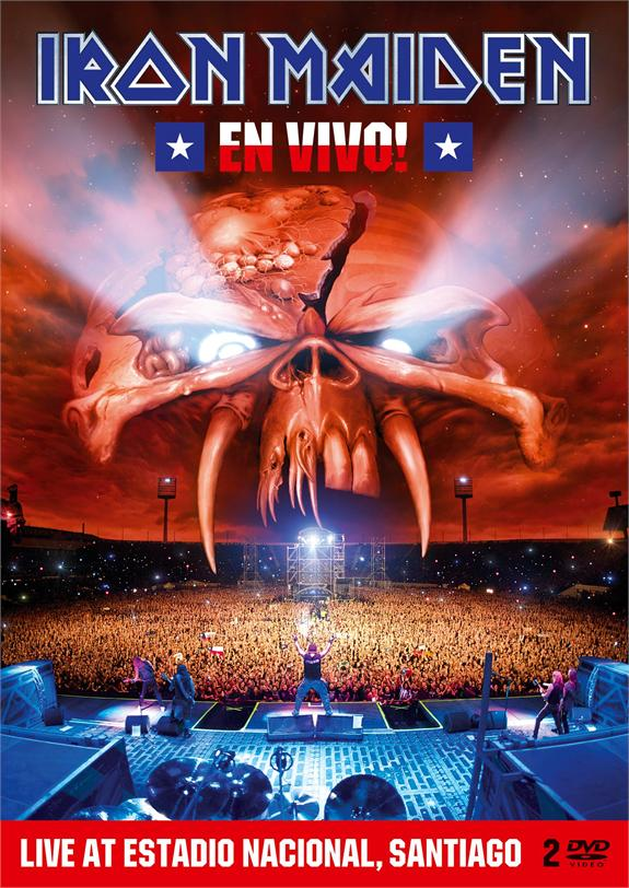 IRON MAIDEN 'En Vivo!' Live DVD / Blu-ray & double album released March 23