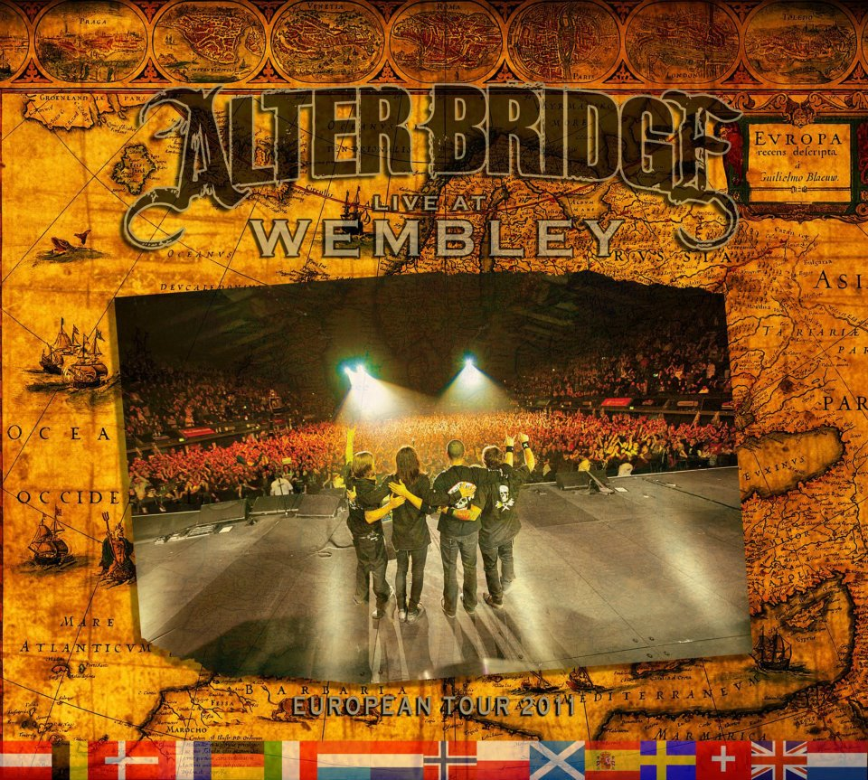WIN: Alter Bridge – Live At Wembley DVD (CLOSED)