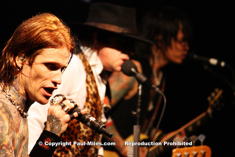 Buckcherry – Paramount, Huntington, NY, USA – 18 May 2012