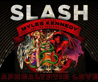 SLASH has an interview with us coming up & a new album you can pre order to win a signed Les Paul guitar!