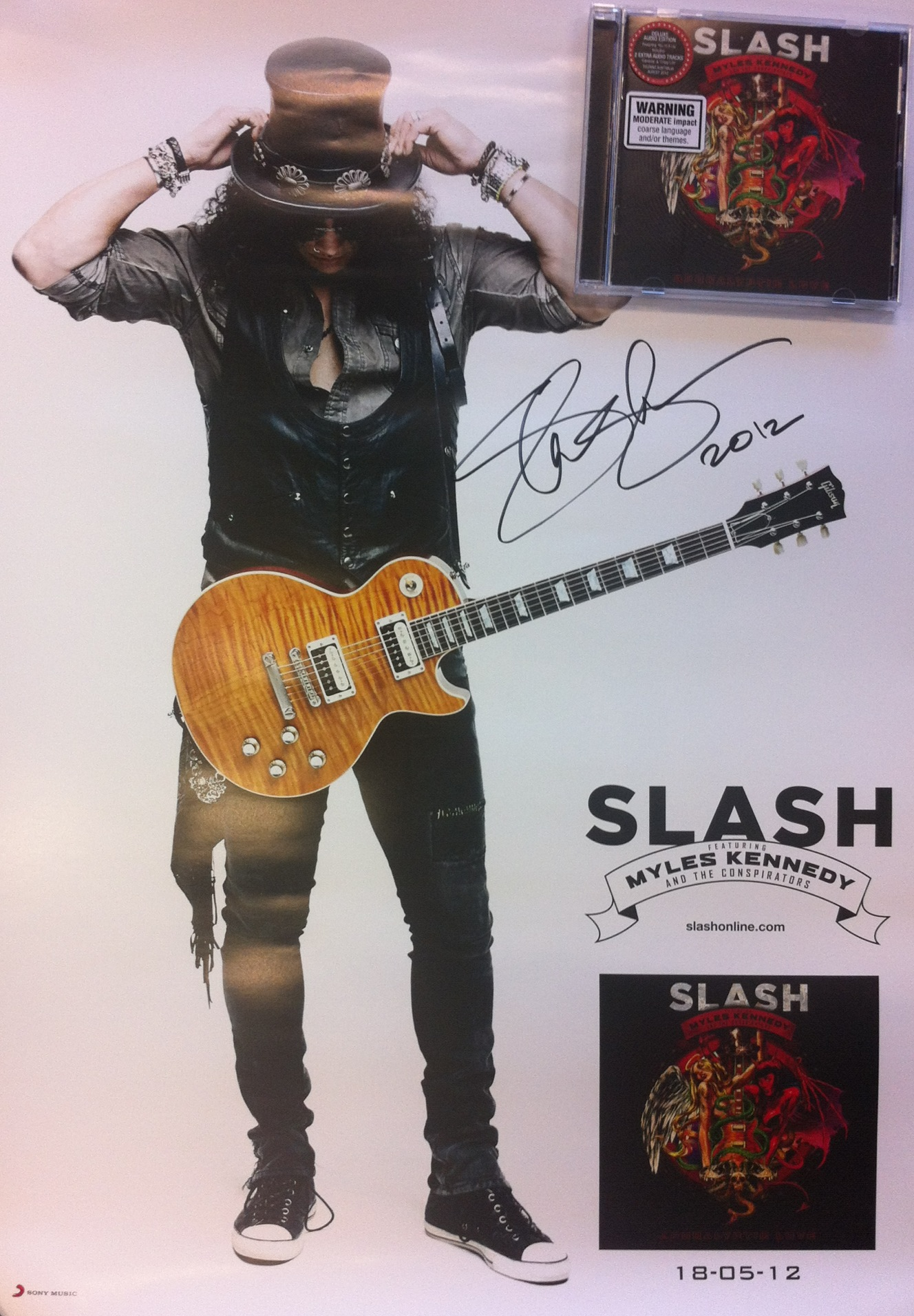 Show us your 'Slash' to win a signed poster… (CLOSED)