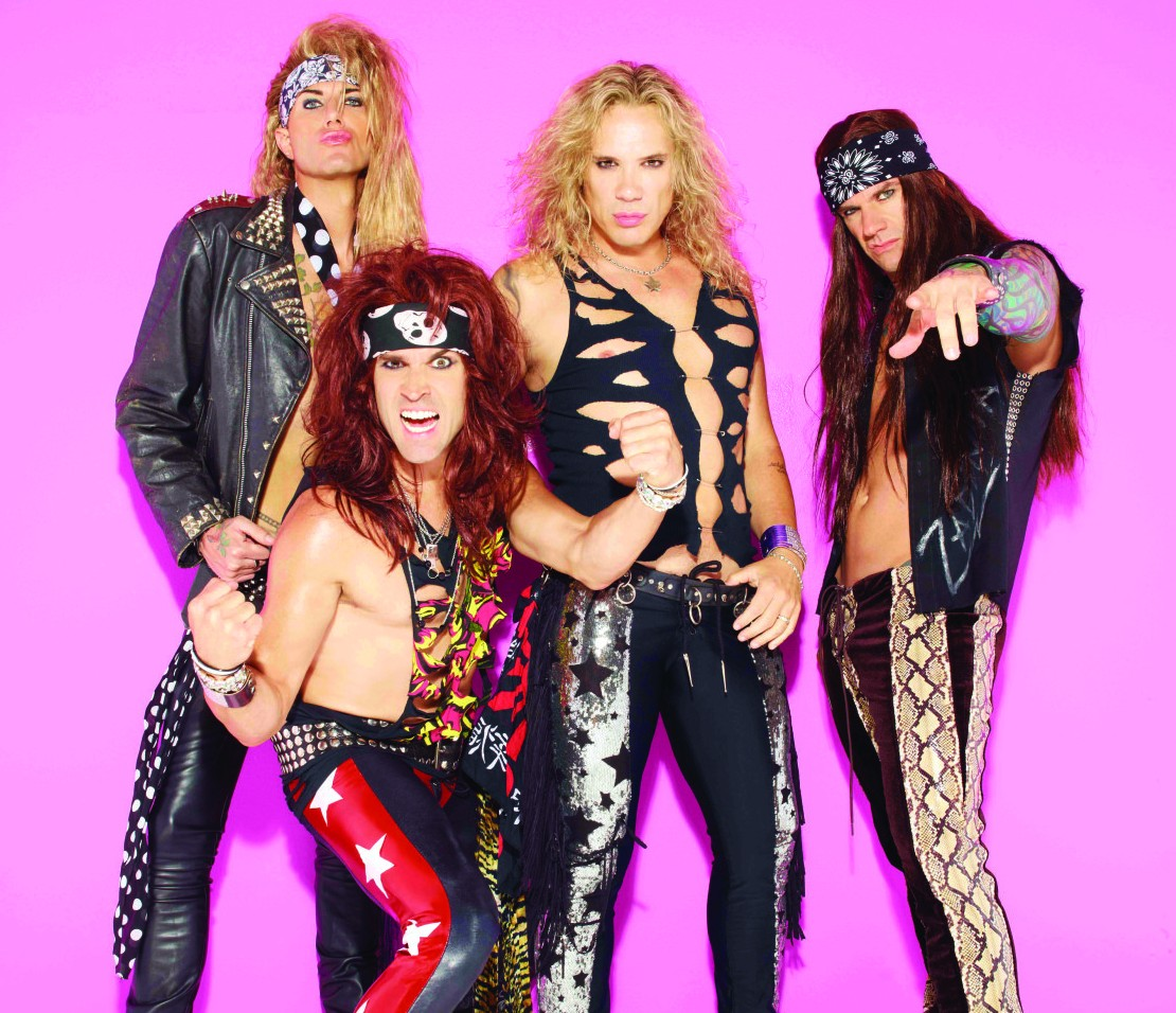 Steel Panther – The Big Top at Luna Park, Sydney – 5 October 2012