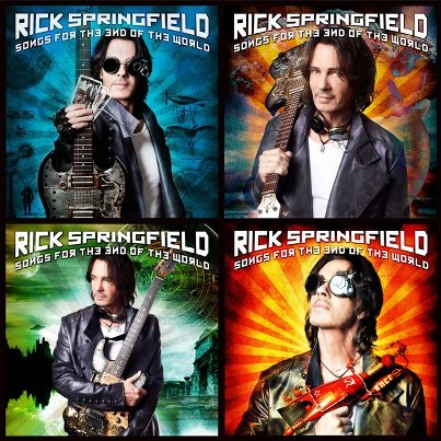 Rick Springfield announces new album 'Songs For The End Of The World' released October 9th