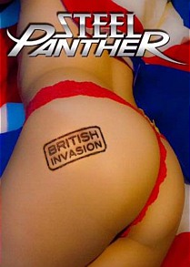 Steel Panther 'British Invasion' available 28th September in Australia
