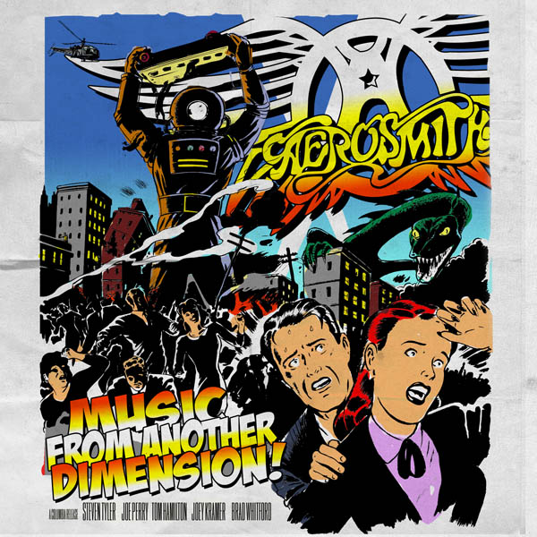 WIN a copy of the new Aerosmith album 'Music From Another Dimension' (CLOSED)
