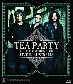 The Tea Party: Live in Australia DVD out 7th November