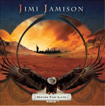 Jimi Jamison announces new solo album 'Never Too Late'
