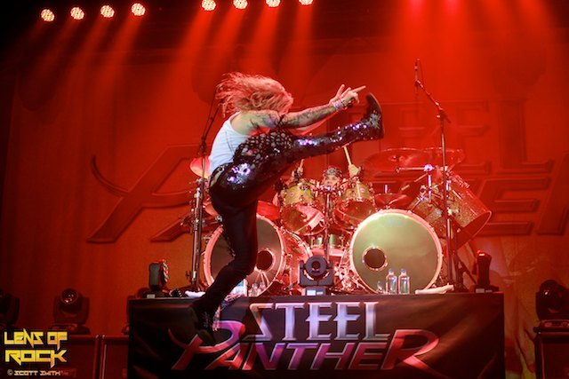 Steel Panther – Festival Hall, Melbourne, Australia – 07 October 2012