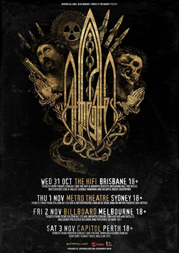 At The Gates Australian tour supports announced