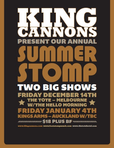 King Cannons Summer stomps