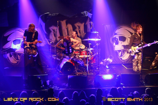 Sabaton – Palace Theatre, Melbourne, Australia – 15 January 2013