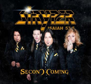 Stryper announce new album 'Second Coming' and sign multi album deal with Frontiers Records