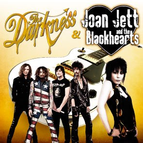 The Darkness with Joan Jett and The Blackhearts Australian Tour