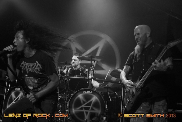 Anthrax & Fozzy – Hi Fi Bar, Melbourne, Australia – 28 February 2013