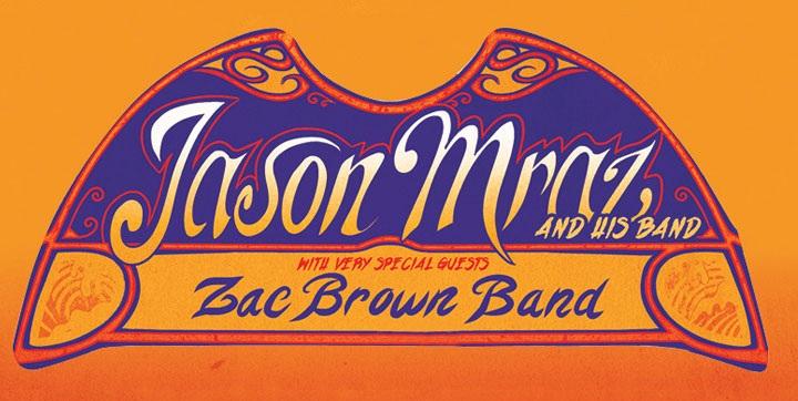 Jason Mraz and Zac Brown Band – Sydney Entertainment Centre – March 26, 2013