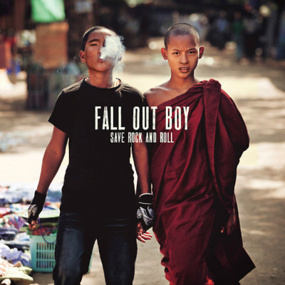 WIN a copy of Fall Out Boy's new album 'Save Rock and Roll' (CLOSED)