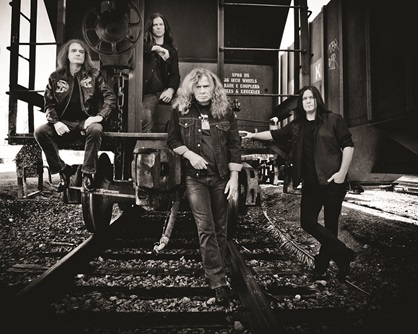 Megadeth new album 'Super Collider' in stores May 31st