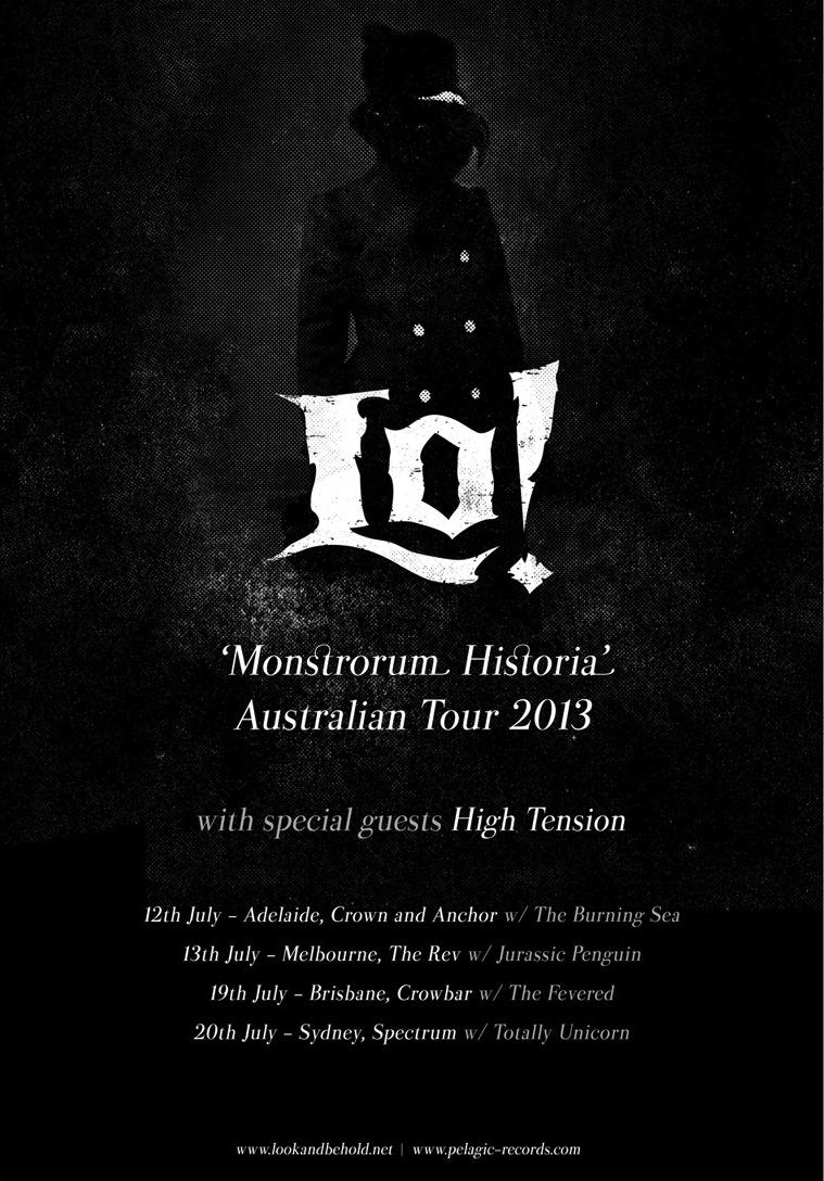 Lo! Announce July Album Tour
