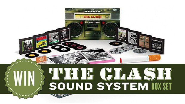 WIN an amazing 'Sound System' box set by THE CLASH (CLOSED)