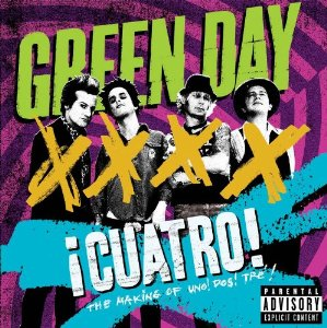 GREEN DAY's Documentary Film ¡Cuatro! To Be Released On Friday 8 November