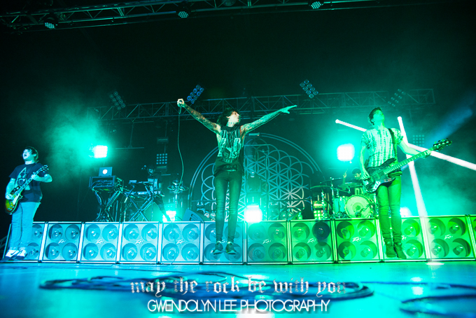 Bring Me The Horizon, Of Mice & Men and Crossfaith – Hordern Pavilion, Sydney – October 6, 2013