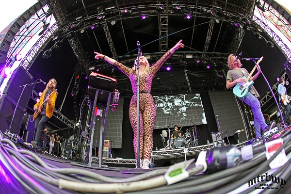 Grouplove & CSS – The Big Day Out – Olympic Park, Sydney – January 26, 2014