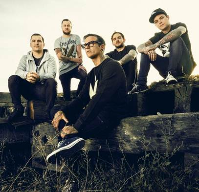 "THE AMITY AFFLICTION Announce ""Let The Ocean Take Me Tour"""