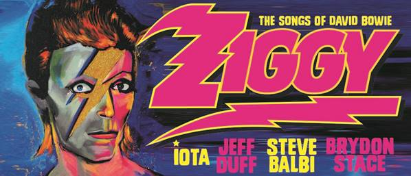 Ziggy, The Songs of David Bowie returns to blow our minds in August!