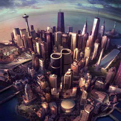 FOO FIGHTERS Sonic Highways HBO TV Series Starts This Saturday On GO!