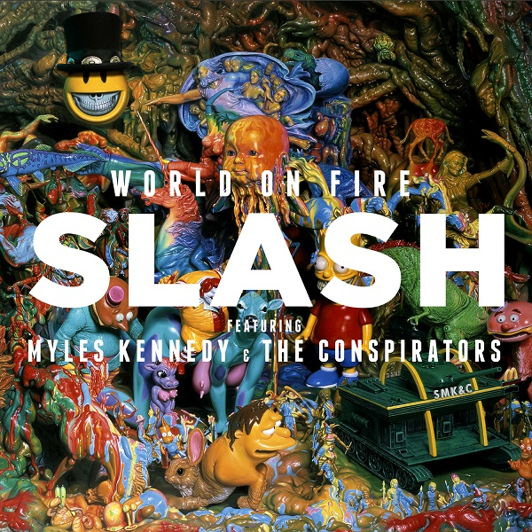 WIN a copy of 'World On Fire' by SLASH feat Myles Kennedy & The Conspirators (CLOSED)