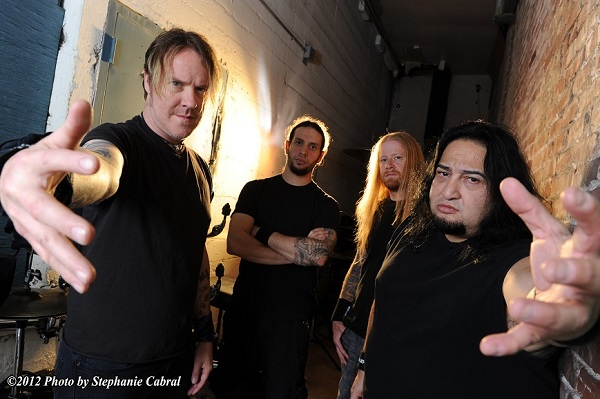 Burton C. Bell of Fear Factory