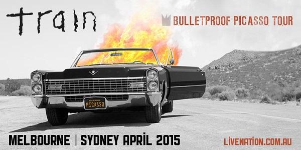 TRAIN – Bulletproof Picasso Tour Melbourne & Sydney 2015