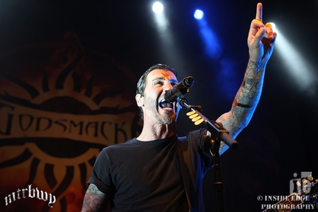 Godsmack / Papa Roach / Nonpoint – The Forum, Melbourne – February 24, 2015