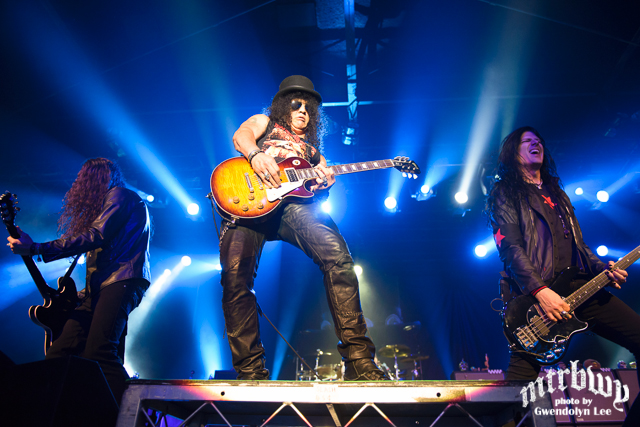 Slash / Steel Panther – The Hordern Pavilion, Sydney – February 24, 2015