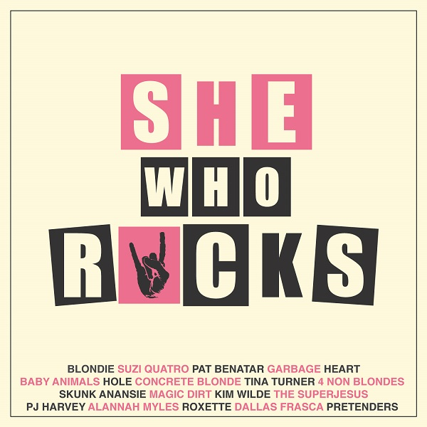 WIN a copy of the 'She Who Rocks' compilation album