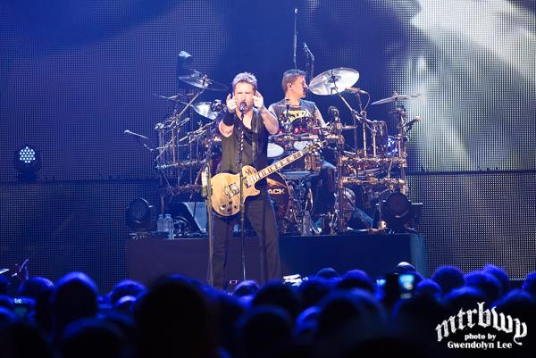 Nickelback – Allphones Arena, Sydney – May 22, 2015